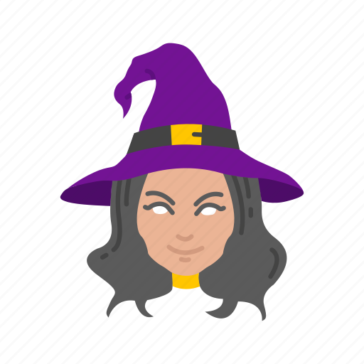 halloween, magician, witch, witch hat icon