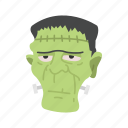 frankenstien, halloween, living dead, monster icon