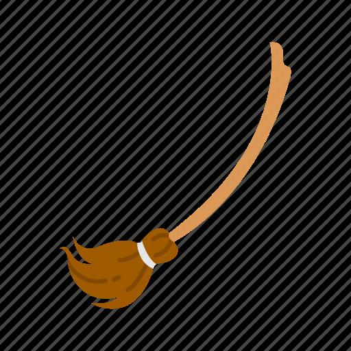 broom, broom stick, halloween, witch broom icon