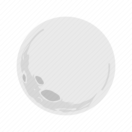 full moon, halloween, moon, night icon