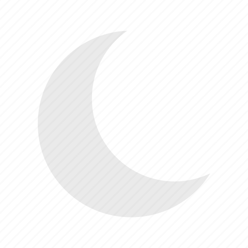 crescent, halloween, moon, night, satellite icon