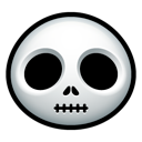 halloween, skellington, skull icon