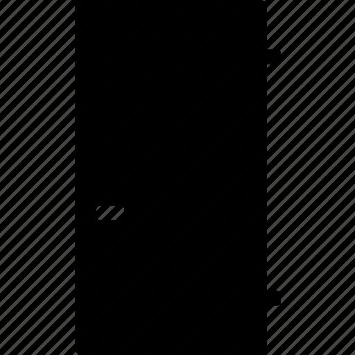 Closed, door, doorway, entrance, exit, handle icon - Download on Iconfinder