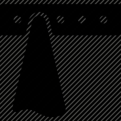 Cloth, hanger, hook, kitchen, rack, towel, wood icon - Download on Iconfinder