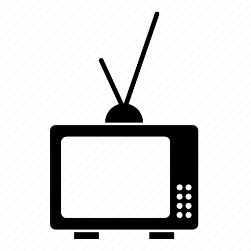 appliance, electrical, homeware, household, television, televisor, tv icon