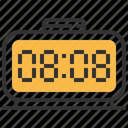 clock, digital, stopwatch, timer, watch icon