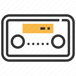 audio, control, modern, music, radio, sound icon