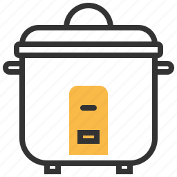 cooker, cooking, kitchen, pot, rice icon