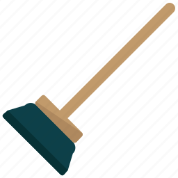 appliance, broom, clean, cleaning, home, sweeping icon