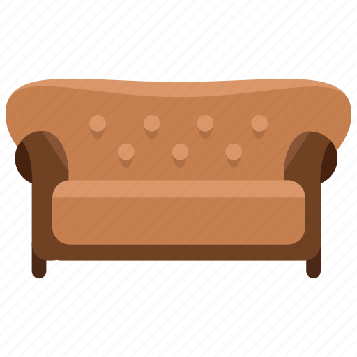 appliance, couch, furniture, home, interior, sofa icon