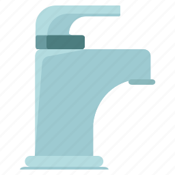 appliance, bathroom, home, restroom, sink, tap, water icon
