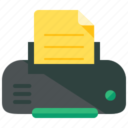 appliance, home, office, print, printer icon