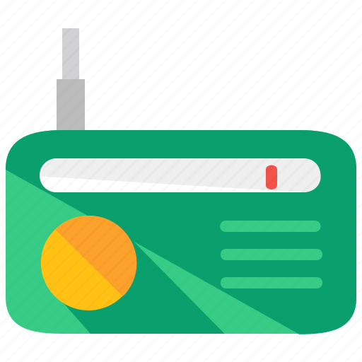 appliance, home, radio, signal, sound, wireless icon