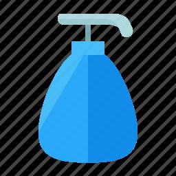 appliance, bathroom, hand, home, small, soap icon