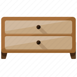 appliance, cabinet, closet, cupboard, drawer, furniture, home icon