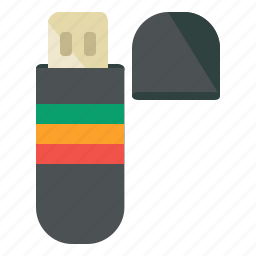 appliance, flash, home, memory, stick, storage, usb icon