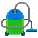 appliance, cleaner, cleaning, home, vacuum icon