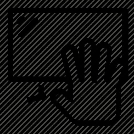 hand, television icon
