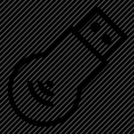 usb, wifi, wireless icon