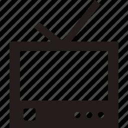 desktop, display, monitor, tv icon