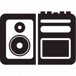 media, recorder, sound, volume icon