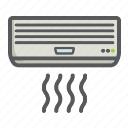 air, appliance, cold, conditioner, electric, household, temperature icon