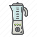 appliance, blender, electric, food, household, kitchen, mixer icon