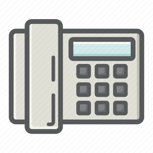 appliance, call, communication, home, household, office, phone icon