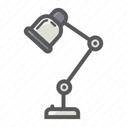 appliance, desk, electric, household, lamp, office, table icon
