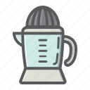 appliance, drink, fruit, han, household, juice, juicer icon