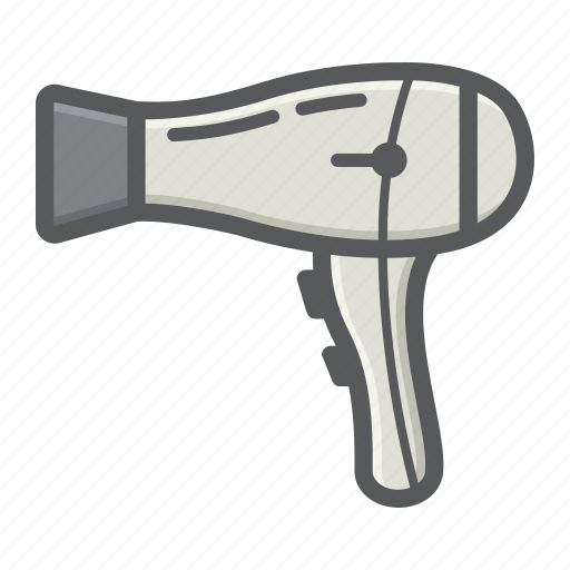 appliance, barber, dryer, electric, hair, hot, household icon