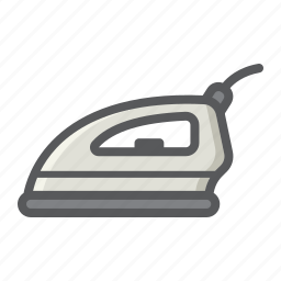appliance, cloth, electric, hot, household, iron, work icon