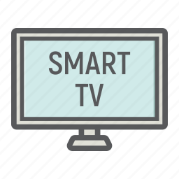 appliance, household, lcd, monitor, screen, smart, tv icon