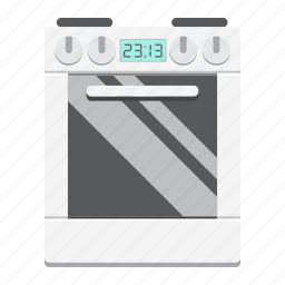 appliance, cooker, gas, hot, household, kitchen, stove icon