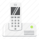 appliance, call, communication, household, phone, telephone, wireless icon