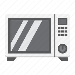 appliance, cooking, electric, household, kitchen, microwave, oven icon
