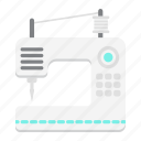 appliance, craft, fashion, household, machine, sew, sewing icon