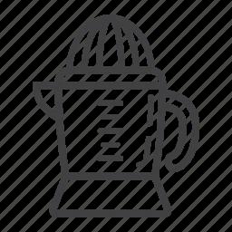 appliance, drink, fruit, han, household, juice, juicer icon