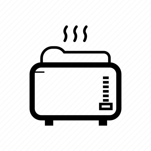 Brad, breakfast, cartoon, home appliances, toaster icon - Download on Iconfinder