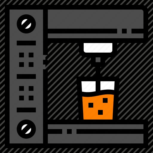 coffee, cup, espesso, kitchen, machine icon