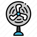 appliances, cooler, fan, home, wind icon