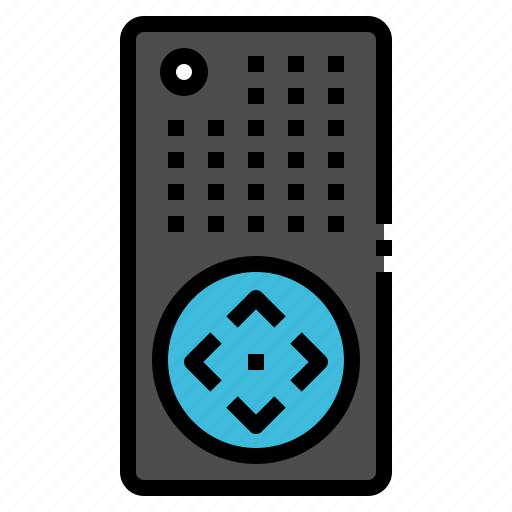 appliances, control, home, remote, tv icon