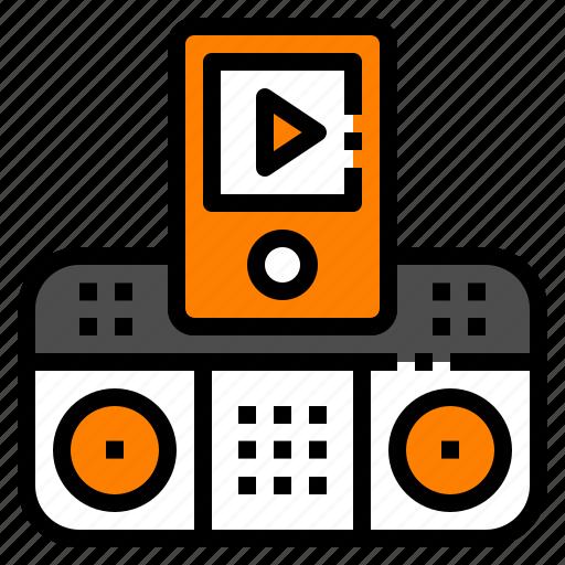 ipod, music, player, radio, song icon