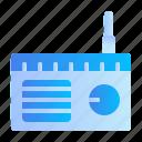 appliances, home, radio icon
