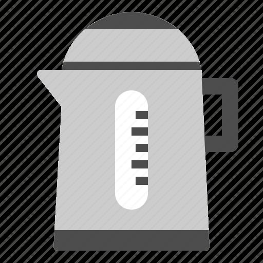 appliances, boil, electric, kettle, kitchen icon