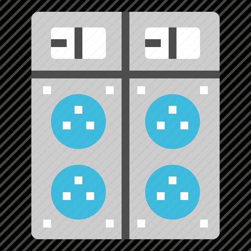 appliances, cable, outlet, plug, power icon