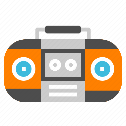 audio, music, radio, song, sound icon