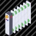lube heat, oil boiler, oil heater, oil oven, portable heater, radiator icon