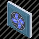 blower fan, electronic appliance, fan, pedestal fan, table fan icon