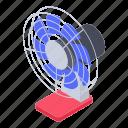 desk fan, electronic appliance, fan, pedestal fan, table fan icon